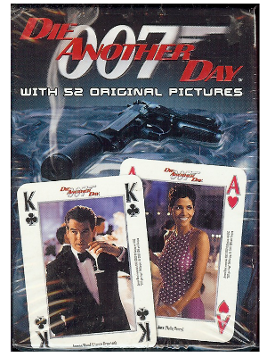 [ 007 Die Another Day Playing Cards ]