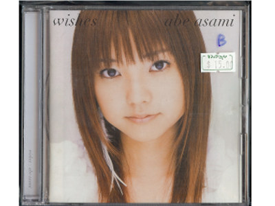 Asami Abe [ Wishes ] CD Music