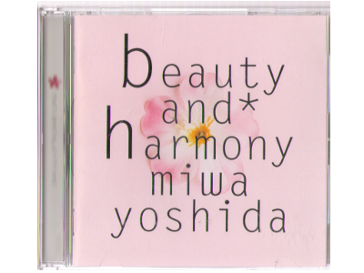 Miwa Yoshida [ beauty and harmony ] CD 1995