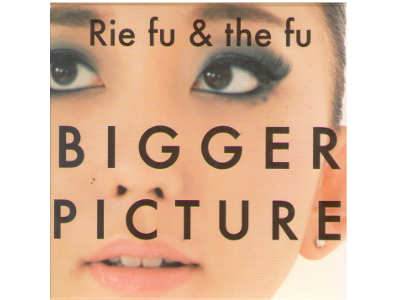 Rie fu & the fu [ BIGGER PICTURE ] CD J-POP