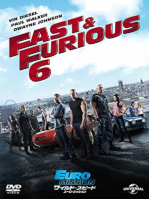 [ Fast & Furious 6 ] DVD Movie NTSC R2 JAPAN Edition