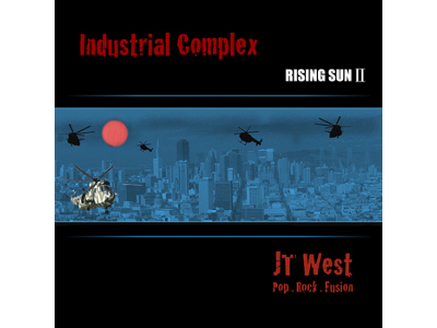JT West [ Industrial Complex -Rising Sun 2- ] CD / Guitar