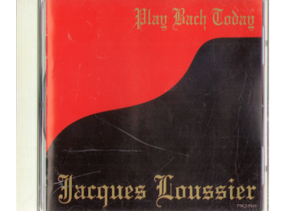 Jacques Loussier [ Play Bach Today ] CD / Jazz / 1994