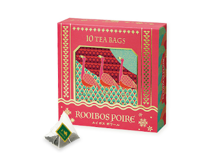 LUPICIA [ TEA BAG ROOIBOS POIRE XMAS 2020 ] Tea Gift