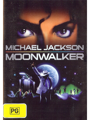 [ Michael Jackson- Moonwalker ] DVD Music PAL/4