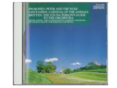 Kosler, Groves [ Prokofiev: Peter and The Wolf ] CD Classical