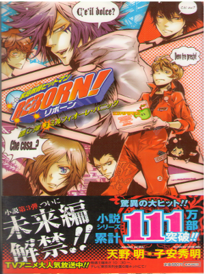 Akira Amano [ REBORN! Secret Bullet 3 ] Light Novel JPN