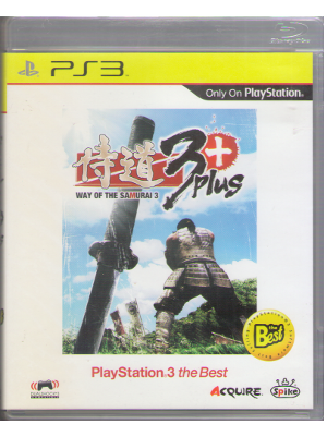 PS3 Asia edit. [ 侍道3 Plus PLAYSTATION 3 the Best ] Game