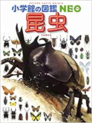 [ Shogakkan Zukan NEO (Nature Earth Origin) KONCHU (insects) ] J