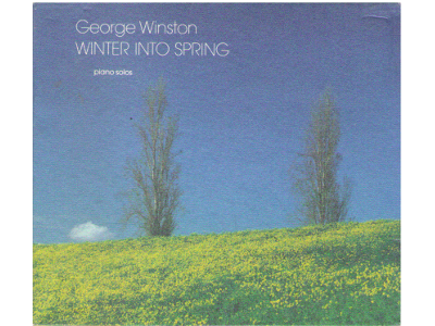 George Winston [ Winter to Spring ] CD / Piano Solos Japan Edit